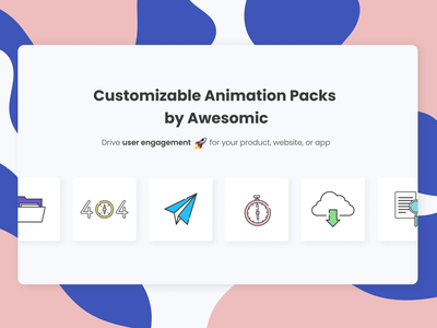 Customizable Free UI Animations! animation 2d 2d 2d animation animations animation design icons icon set ui animation dailyui daily ui motion motion graphic motion graphics motion design animated gif animation illustration designer graphics ui