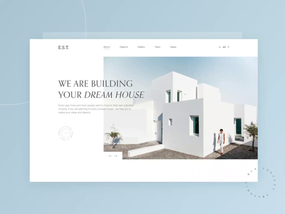 Web Design Concept — Construction Company ui designer ui  ux design web designer building web concept website concept webdesign uiux minimal clean ui web ui design dailyui ux ui  ux website design website design web design ui