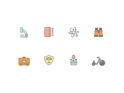 Dropbox Icons icon factory bridge clipboard roller coaster pizza big wheel mario shield binoculars moleskine microscope