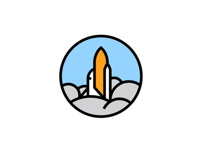 Space Shuttle Badge badge shuttle space