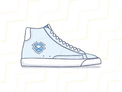 Dropkick Blazers shoe kicks blazer dropbox sneaker