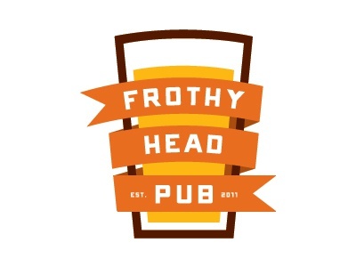 Frothy head