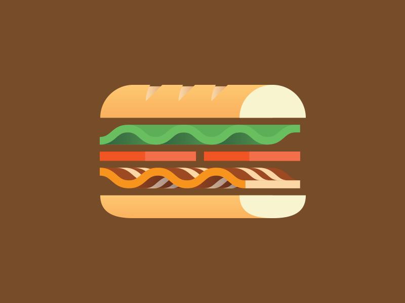 Sandwich bacon tomato lettuce bread sandwich