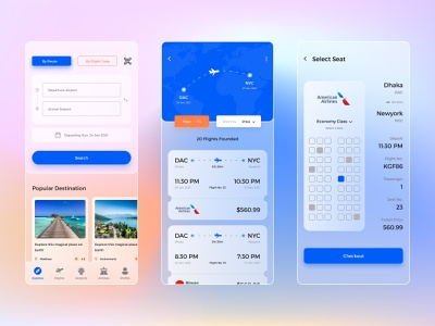 Flight Tracker Glassmorphism App glass ui free download plane screen tour ticket drive tracker app figma vector web mobile ui flight booking flight app glassmorphism app ux ui illustrator design