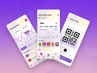 Digital Wallet App Design digital transcation banner money transcation currency app trend app mobile app design xd screen money wallet wallets uxdesign walletapp mobile bank ux wallet ui banking app digital wallet wallet app