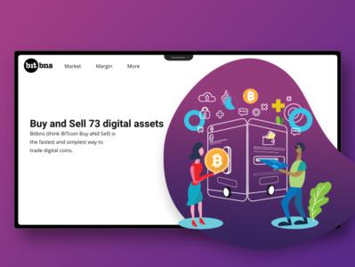 Bitcoin Concept illustration