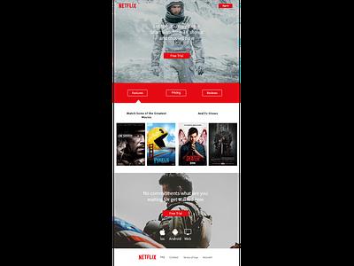 Netflix Redesign redesign netflix