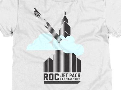 Roc Jet Pack Labs T t shirt cotton bureau deco minimal tech jet pack