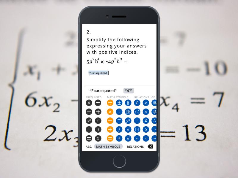 Calculator App chuckmcquilkin math design app ux ui