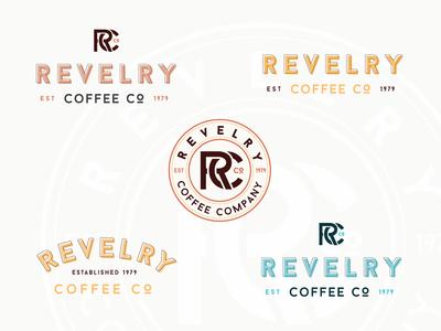 Revelry Coffee Co. Logos
