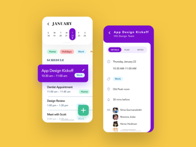 Cool Calendar App