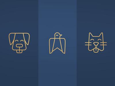 Animal Icons - boutique animal spa