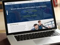 Career Website Mock-up