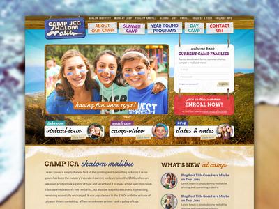 Malibu Summer Camp Homepage