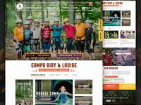 Summer Camp Homepage Rebound