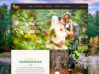 Adirondack Wedding Venue Website