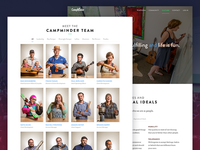 CampMinder Culture & Team Page