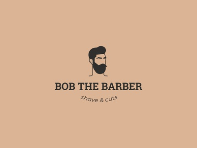 Bob the barber logo