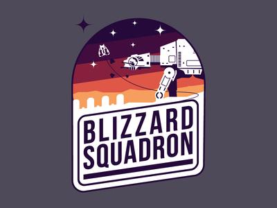Blizzard Squadron Logo