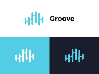 Logo Groove branding