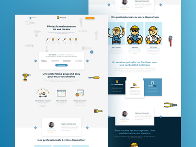 Merci jack Website ui  ux design ios icon app typography landing page ux ui illustration design