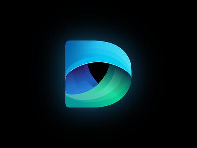 Defenders Logo computer protection antivirus brand and identity typography identity icon web branding vector stationary concept brand logo illustration design