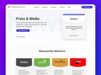 Treasure Data Press & Media Mock