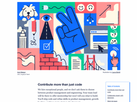 AngelList Blog Editorial Art Direction
