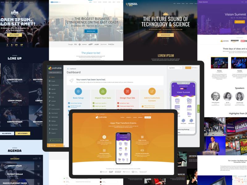 Pathable web app design ux ui
