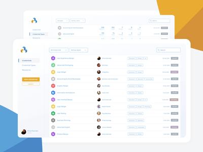 Attainr web app design interaction visual design saas app minimal product design web ux ui design