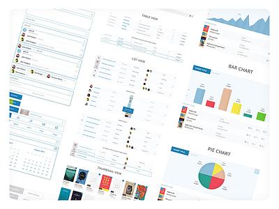 Schilling Cloud Design System saas product design visual design components interaction ui ux design system design