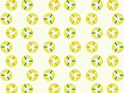 Propellers Letterpress Concept patterns vector geometric