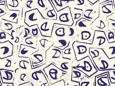 Linoglyphics linoleum print patterns