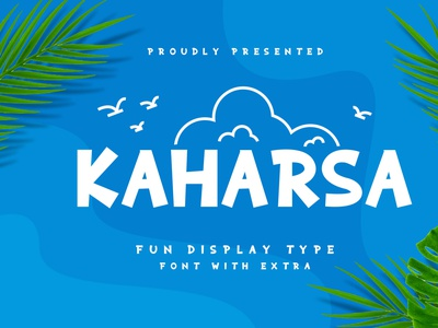 Kaharsa kaharsa font design logo design brand type font branding rantautype