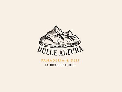Dulce Altura mexicano mexican icon logo logotipo diseño gráfico diseño illustration logotype design mexicali logo design branding