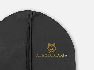Logo Alexia María logotipo diseño gráfico design logotype new york mexicali logo design branding logo