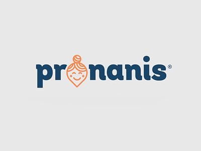Naming / logo Pronanis diseño illustration mexican flat diseño gráfico logotype logo logo design mexicali branding