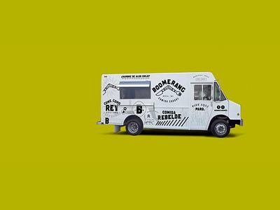 Branding foodie food truck diseño illustration vector diseño gráfico logo design mexicali branding