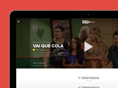 Tv Everywhere Platform section tv responsive web header cover video