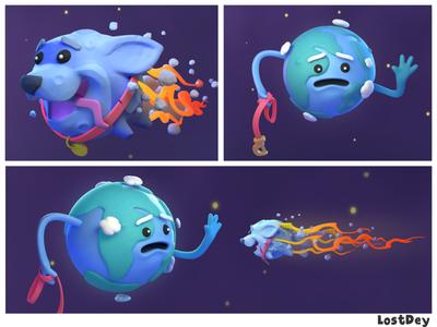 Space Puppy....