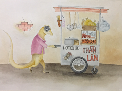 Lizard vendor seller