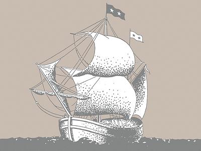 Ship stippling sharpie album
