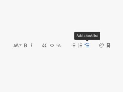 Markdown Toolbar markdown textarea wysiwyg