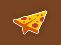 pizza plane