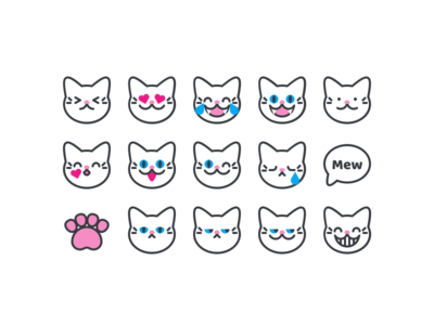 cat emoji - new version
