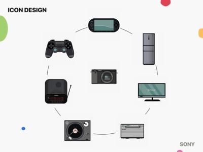 SONY Icon Design