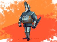 Brave knight