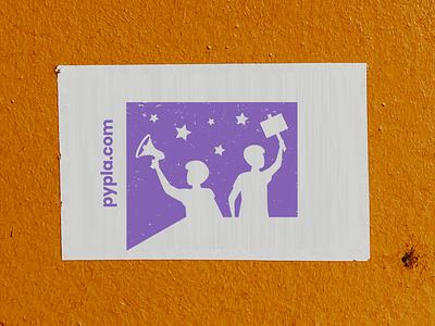 Social Project Logo & Wall Sticker Design branding design modern logo branding company logo brand identity visual identity logo branding logo brand brand logo design logodesign logo non-profit nonprofit organization volunteer