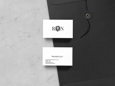 Ronnie Norder Business Card Design