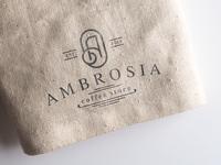 Ambrosia Logo Canvas Texture